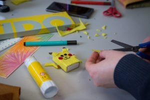 Creating Pikachu