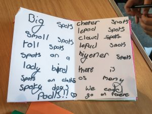 Spots by Hannah - poem
