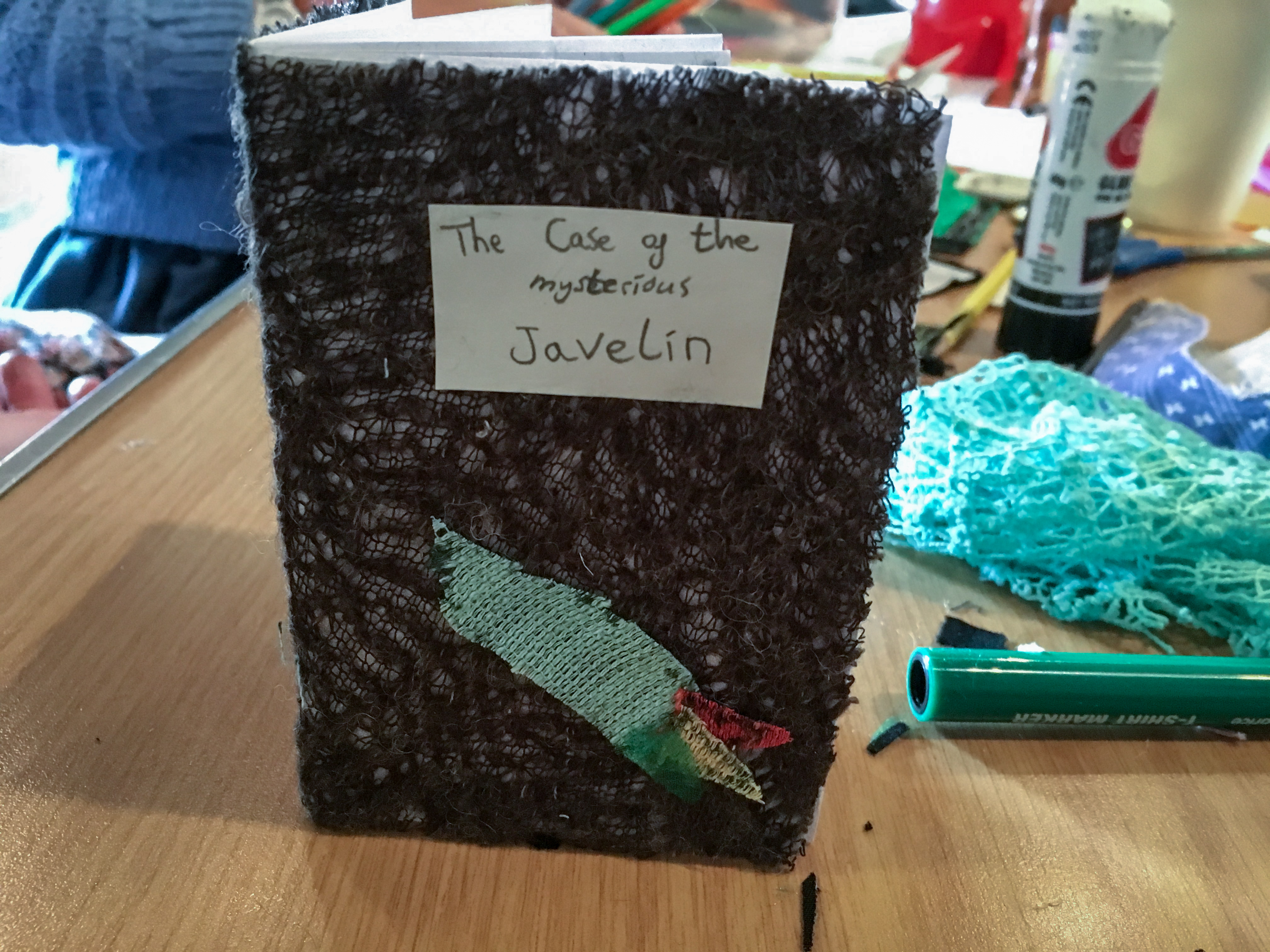 The Javelin by Delphi - cover