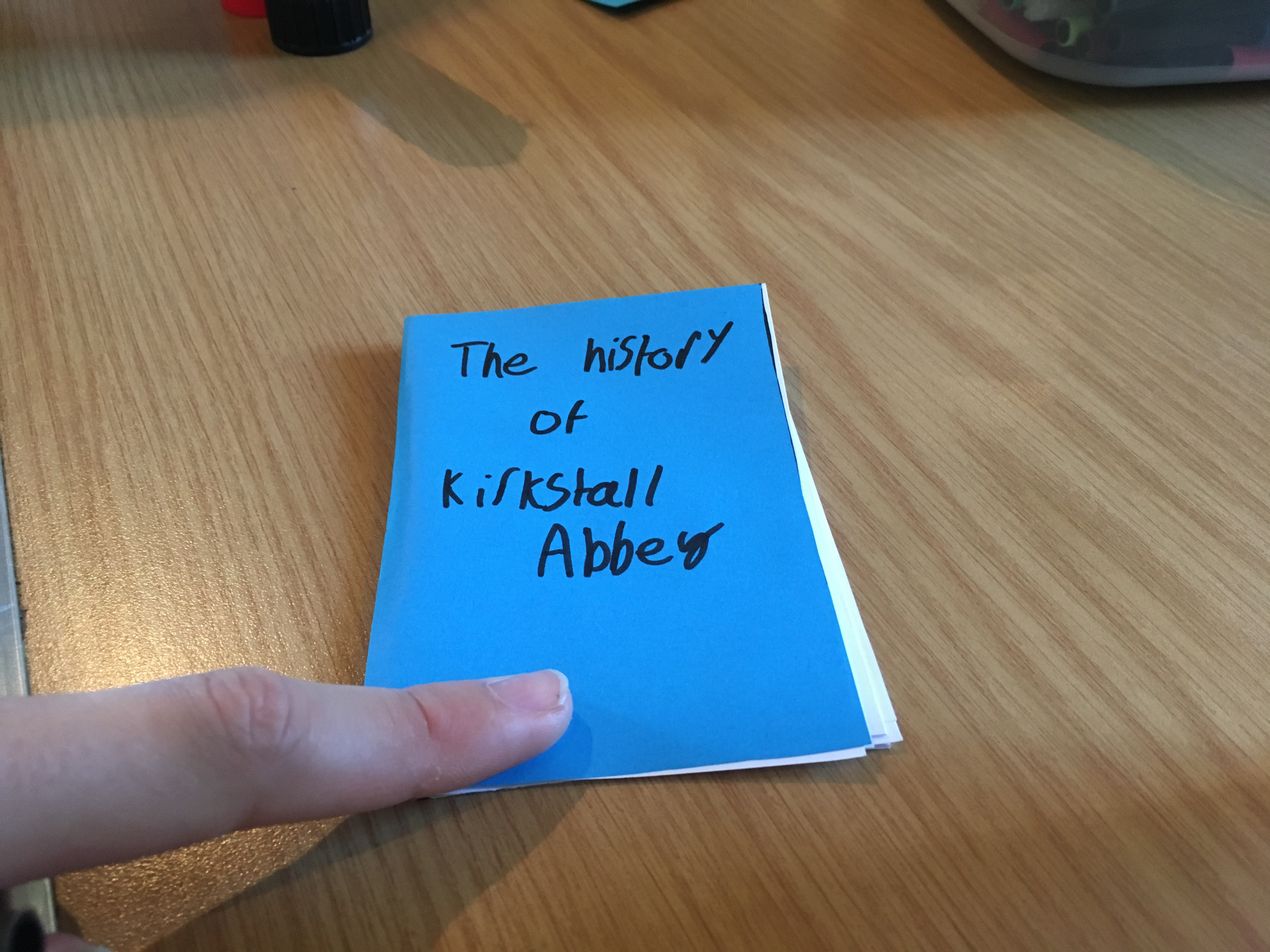 The History of Kirkstall Abbey - front cover