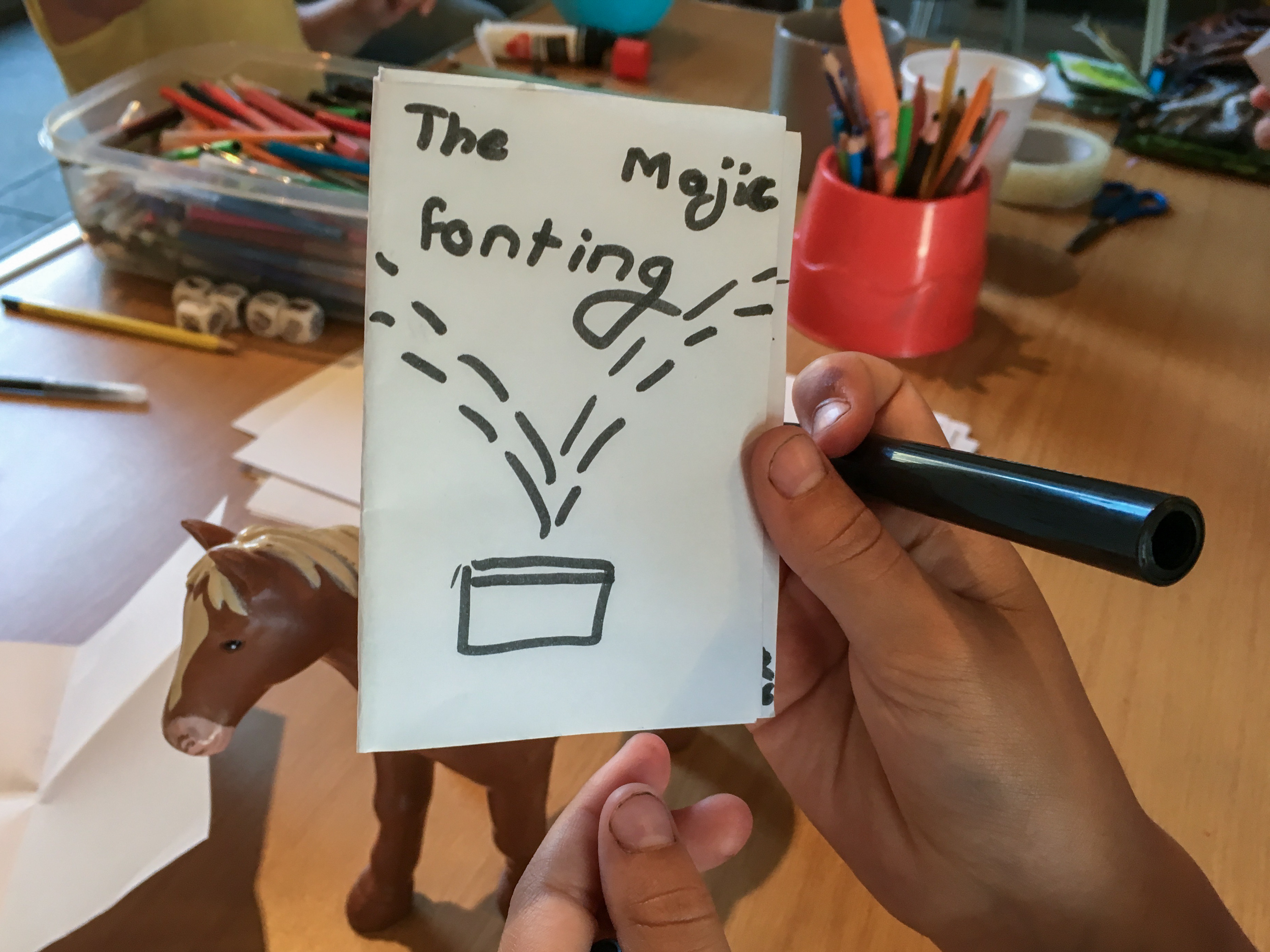 The Magic Fountain by Hannah - front cover
